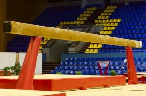 Gymnastic balance beam
